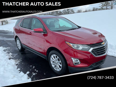 2018 Chevrolet Equinox for sale at THATCHER AUTO SALES in Export PA
