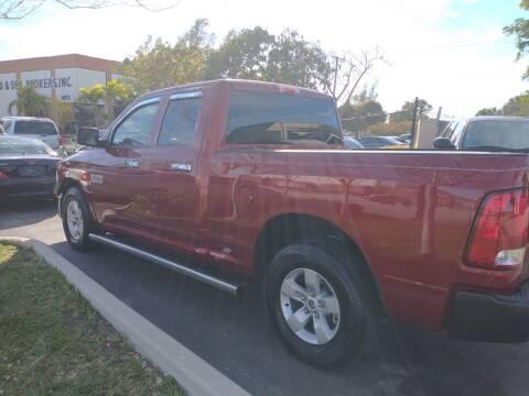 2014 RAM Ram Pickup 1500 for sale at LAND & SEA BROKERS INC in Deerfield FL