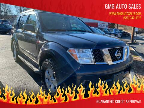 2006 Nissan Pathfinder for sale at GMG AUTO SALES in Scranton PA