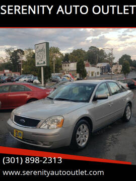 2006 Ford Five Hundred for sale at SERENITY AUTO OUTLET in Frederick MD