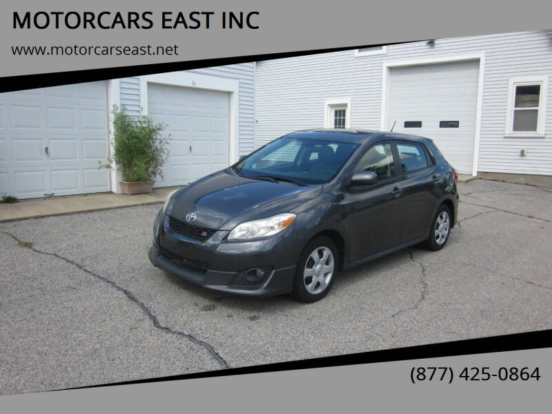 2009 Toyota Matrix for sale at MOTORCARS EAST INC in Derry NH