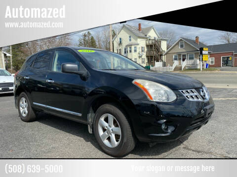 2012 Nissan Rogue for sale at Automazed in Attleboro MA