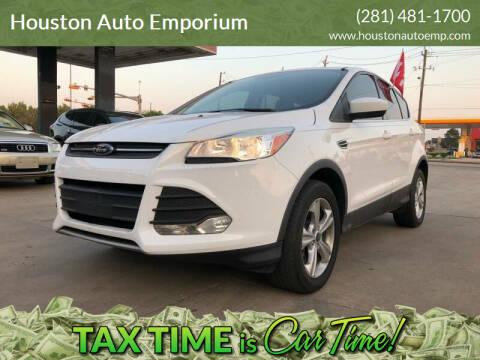 2013 Ford Escape for sale at Houston Auto Emporium in Houston TX