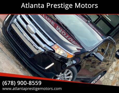 2013 Ford Edge for sale at Atlanta Prestige Motors in Decatur GA