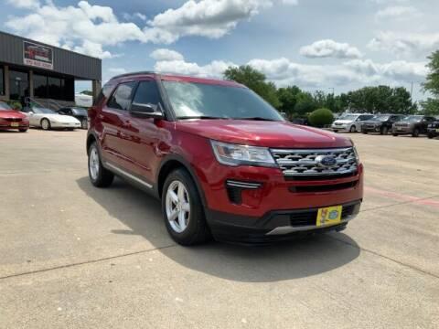 2019 Ford Explorer for sale at KIAN MOTORS INC in Plano TX
