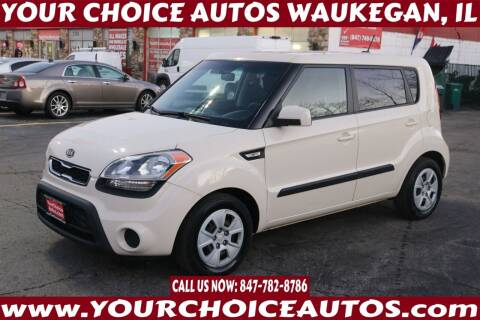 2012 Kia Soul for sale at Your Choice Autos - Waukegan in Waukegan IL