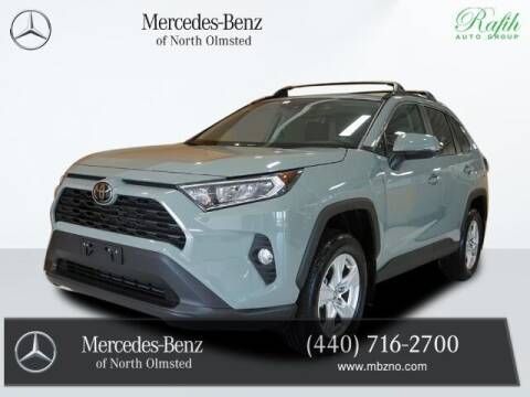 2019 Toyota RAV4 for sale at Mercedes-Benz of North Olmsted in North Olmstead OH