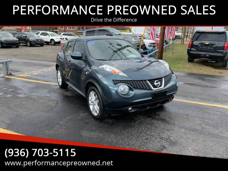 2014 Nissan JUKE for sale at PERFORMANCE PREOWNED SALES in Conroe TX
