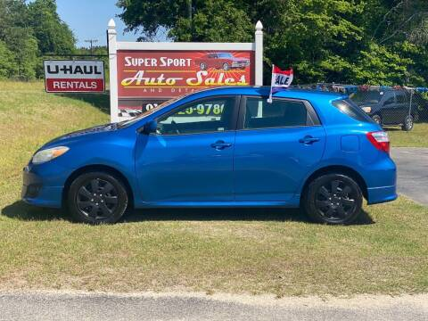 2010 Toyota Matrix for sale at Super Sport Auto Sales in Hope Mills NC