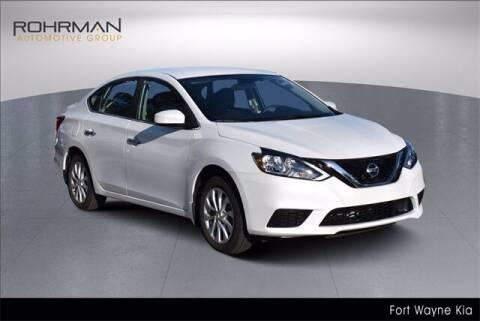 2018 Nissan Sentra for sale at BOB ROHRMAN FORT WAYNE TOYOTA in Fort Wayne IN