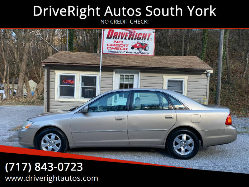 2002 Toyota Avalon for sale at DriveRight Autos South York in York PA