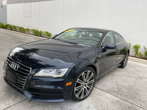 2012 Audi A7 for sale at Auto Beast in Fort Lauderdale FL