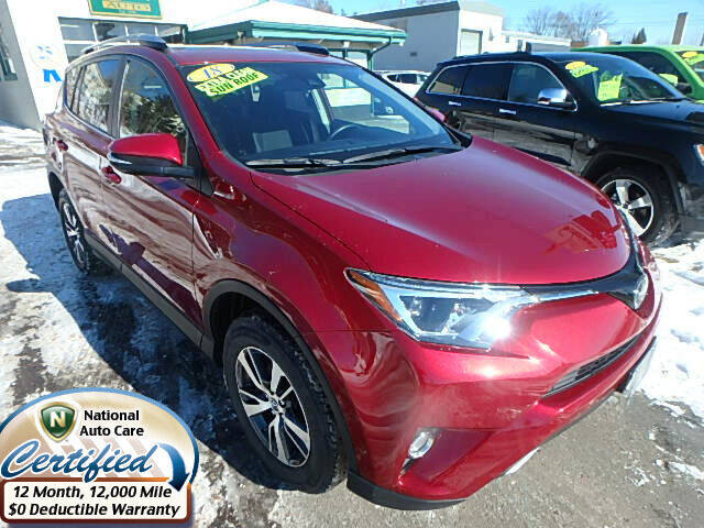 2018 Toyota RAV4 for sale at Jon's Auto in Marquette MI