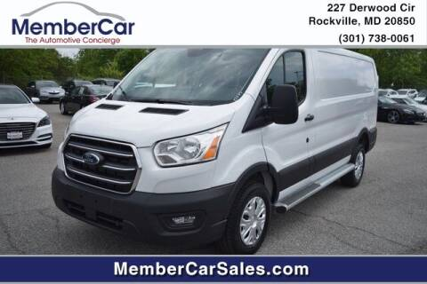 2020 Ford Transit Cargo for sale at MemberCar in Rockville MD
