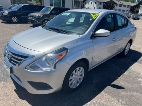 2015 Nissan Versa for sale at CHRISTIAN AUTO SALES in Anoka MN