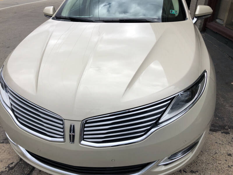 2015 Lincoln MKZ for sale at Berwyn S Detweiler Sales & Service in Uniontown PA