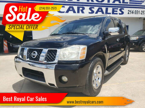 2007 Nissan Armada for sale at Best Royal Car Sales in Dallas TX