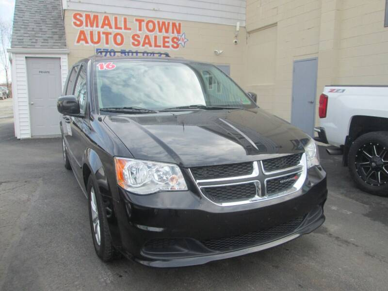 2016 Dodge Grand Caravan for sale at Small Town Auto Sales in Hazleton PA