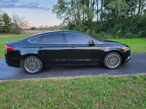 2018 Ford Fusion for sale at M & M Auto Sales in Hillsboro OH