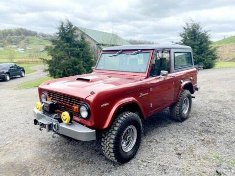 1974 Ford Bronco for sale at Classic Car Deals in Cadillac MI