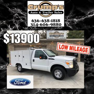 2011 Ford F-250 Super Duty for sale at CRUMP'S AUTO & TRAILER SALES in Crystal City MO