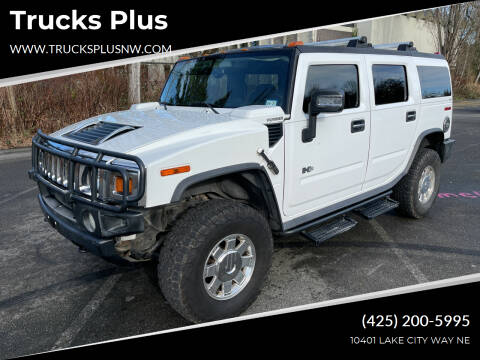 2006 HUMMER H2 for sale at Trucks Plus in Seattle WA