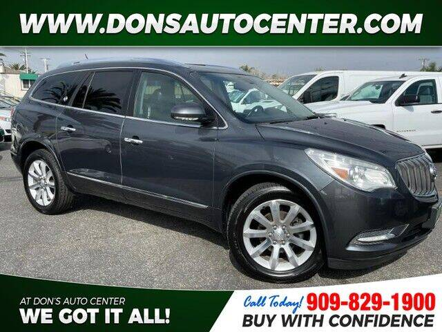 2013 Buick Enclave for sale at Dons Auto Center in Fontana CA