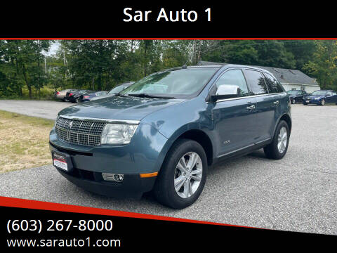 2010 Lincoln MKX for sale at Sar Auto 1 in Belmont NH