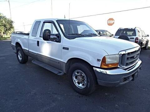 1999 Ford F-250 Super Duty for sale at DONNY MILLS AUTO SALES in Largo FL