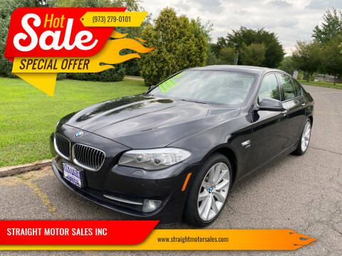 2011 BMW 5 Series for sale at STRAIGHT MOTOR SALES INC in Paterson NJ