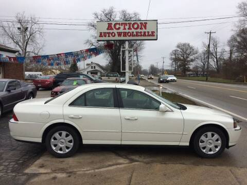 2004 Lincoln LS for sale at Action Auto Wholesale in Painesville OH
