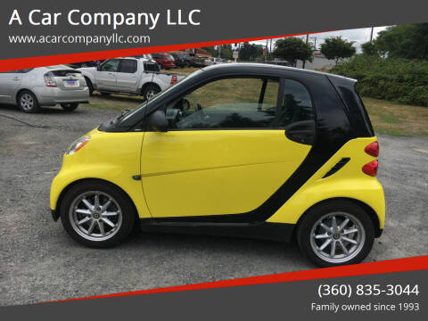 2008 Smart fortwo for sale at A Car Company LLC in Washougal WA