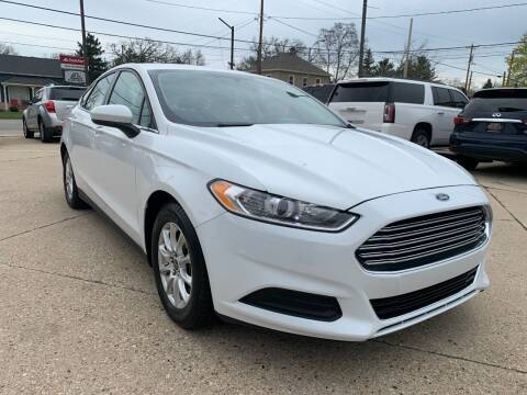2016 Ford Fusion for sale at Auto Gallery LLC in Burlington WI