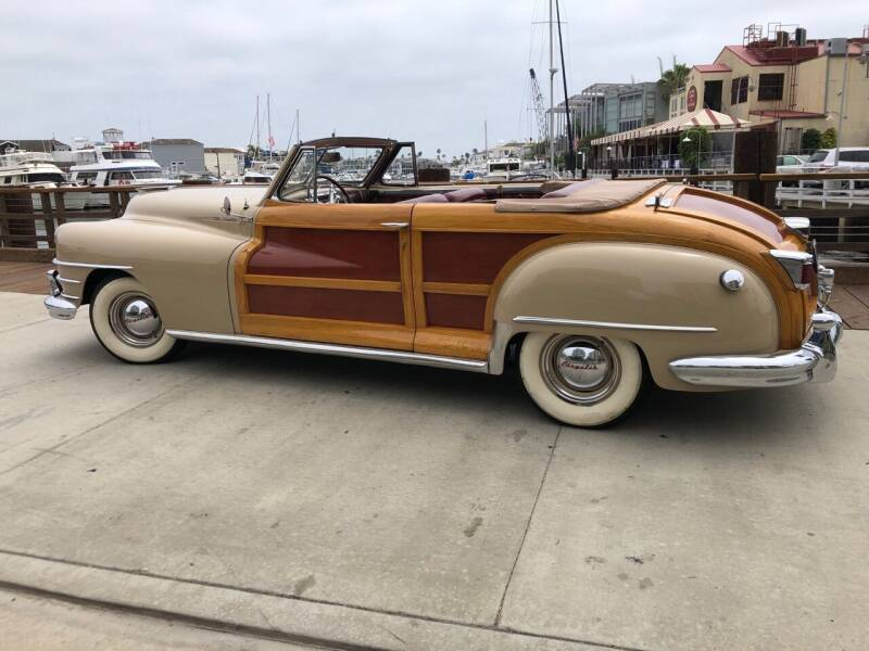 1947 Chrysler Town and Country for sale at Elite Dealer Sales in Costa Mesa CA