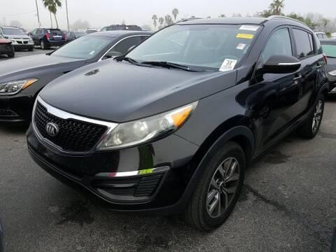 2014 Kia Sportage for sale at FLORIDA CAR TRADE LLC in Davie FL