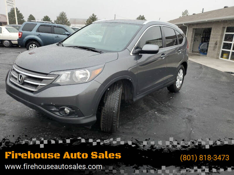 2013 Honda CR-V for sale at Firehouse Auto Sales in Springville UT