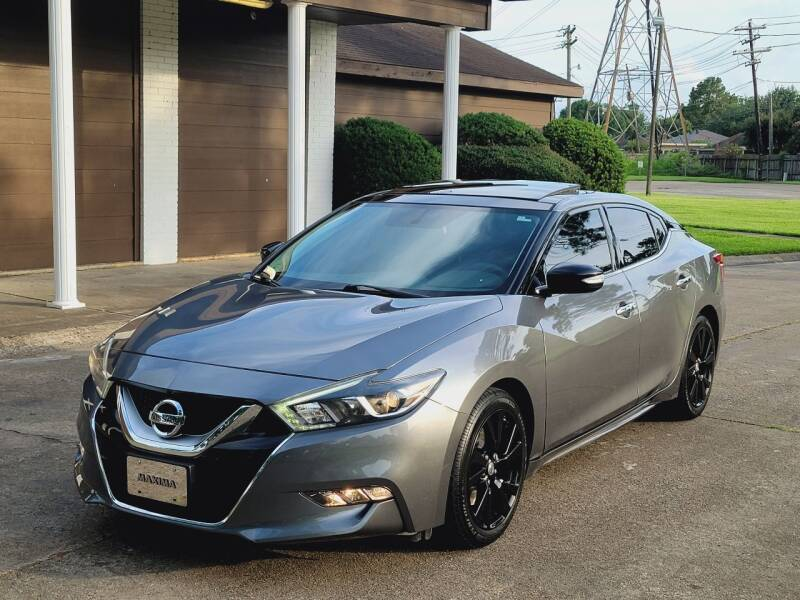 2016 Nissan Maxima for sale at MOTORSPORTS IMPORTS in Houston TX