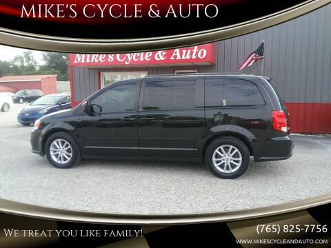 2013 Dodge Grand Caravan for sale at MIKE'S CYCLE & AUTO in Connersville IN