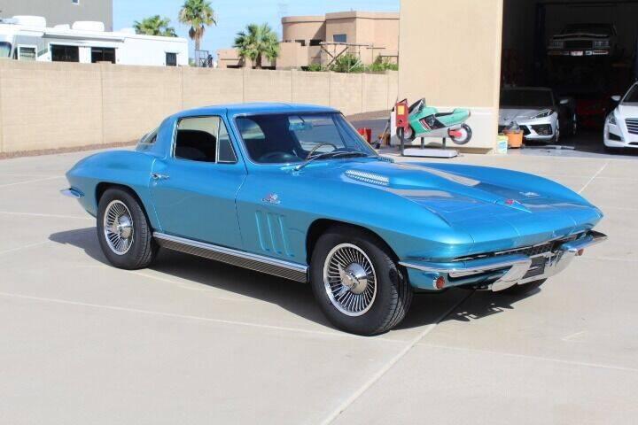 1966 Chevrolet Corvette for sale at CLASSIC SPORTS & TRUCKS in Peoria AZ