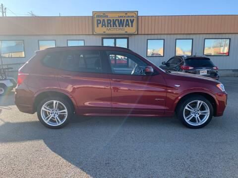 2014 BMW X3 for sale at Parkway Motors in Springfield IL