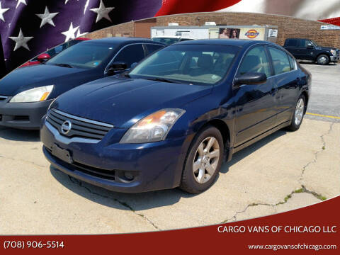 2007 Nissan Altima for sale at Cargo Vans of Chicago LLC in Mokena IL