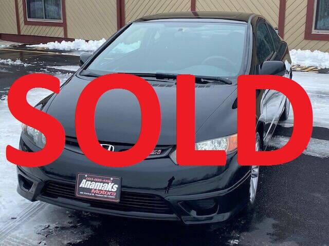 2007 Honda Civic for sale at Anamaks Motors LLC in Hudson NH