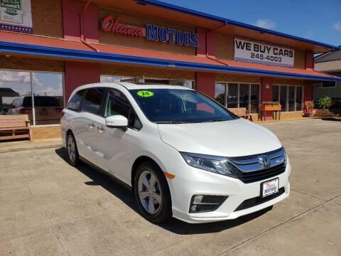 2020 Honda Odyssey for sale at Ohana Motors in Lihue HI