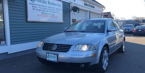 2005 Volkswagen Passat for sale at MURPHY BROTHERS INC in North Weymouth MA