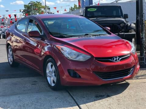 2013 Hyundai Elantra for sale at GW MOTORS in Newark NJ