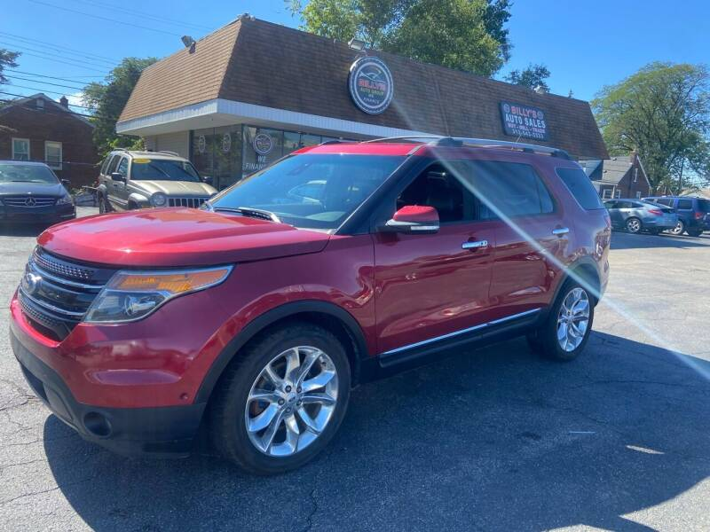 2013 Ford Explorer for sale at Billy Auto Sales in Redford MI
