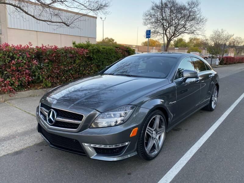 2012 Mercedes-Benz CLS for sale at LG Auto Sales in Rancho Cordova CA