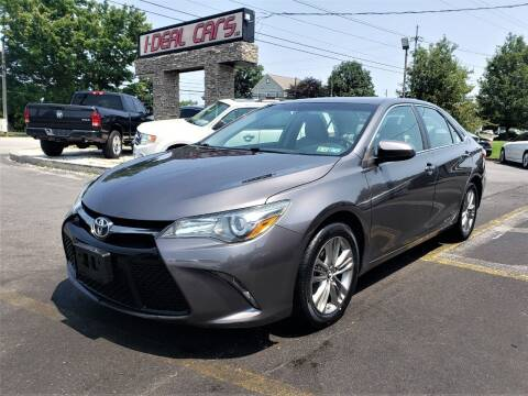 2015 Toyota Camry for sale at I-DEAL CARS in Camp Hill PA
