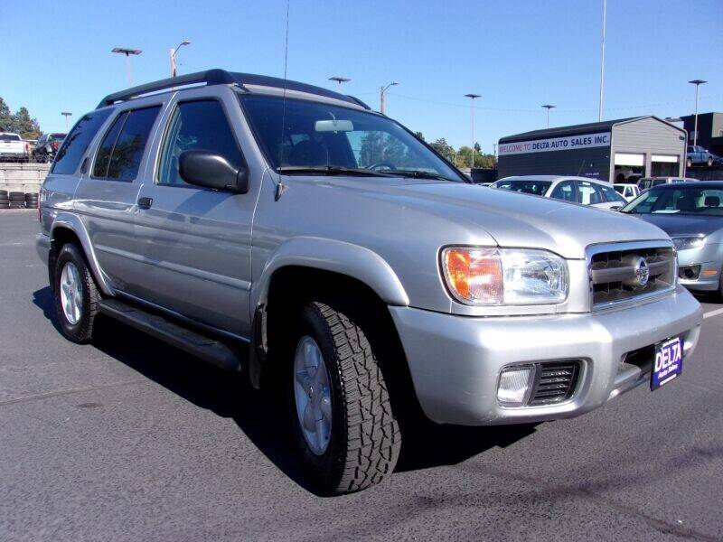 2002 Nissan Pathfinder for sale at Delta Auto Sales in Milwaukie OR
