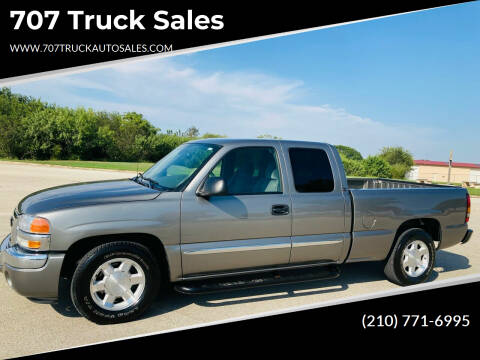 2006 GMC Sierra 1500 for sale at 707 Truck Sales in San Antonio TX